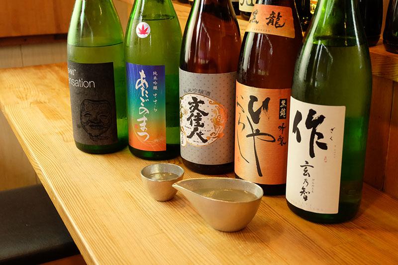 日本酒と酒器
